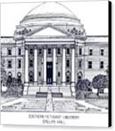 Southern Methodist University Canvas Print