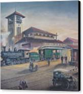 Southern Railway Canvas Print by Charles Roy Smith