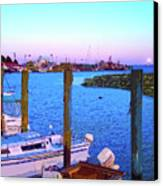 Southport Lights Canvas Print by Garland Johnson