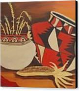 Southwest Pottery Canvas Print
