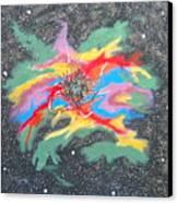 Space Garden Canvas Print