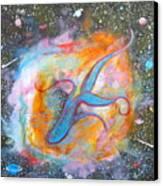 Space Ocean Canvas Print