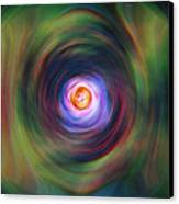 Space Time Sequence Canvas Print