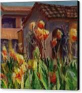Spanish Abode Canvas Print