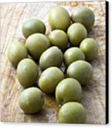 Spanish Manzanilla Olives Canvas Print by Frank Tschakert