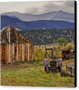 Spanish Peaks Ranch 2 Canvas Print by Charles Warren