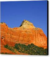 Spectacular Red Rocks - Sedona Az Canvas Print by Christine Till