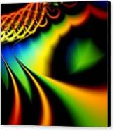 Spectrum Path Canvas Print by Lauren Goia