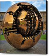 Sphere Within Sphere Canvas Print