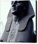 Sphinx In London Canvas Print