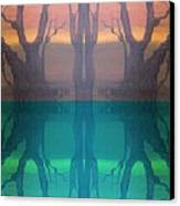 Spiegelungen Canvas Print