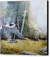 Spike Camp Canvas Print