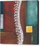 Spinal Column Canvas Print by Sara Young