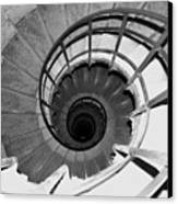 Spiral Staircase At The Arc Canvas Print