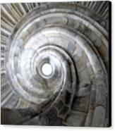 Spiral Staircase Canvas Print by Falko Follert