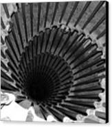 Spiral Staircase In Lublijana Canvas Print