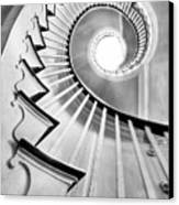 Spiral Staircase Lowndes Grove  Canvas Print by Dustin K Ryan