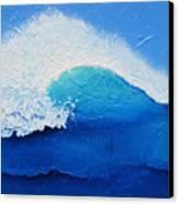 Spiral Wave Canvas Print