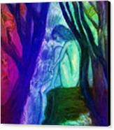 Spirit Guides II Canvas Print by Patricia Motley