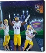 Spirit Of Baton Rouge Canvas Print by Hershel Kysar