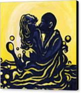 Splash Canvas Print