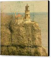 Split Rock Canvas Print