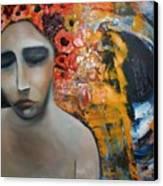 Split Sadness Canvas Print