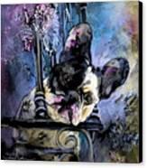 Spok Canvas Print by Miki De Goodaboom