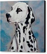 Spotty Canvas Print