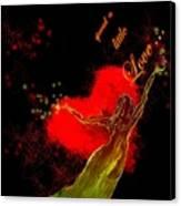 Spread A Little Love Canvas Print
