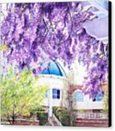Spring At City Hall Canvas Print