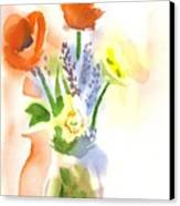 Spring Bouquet II Canvas Print by Kip DeVore