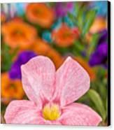 Spring Bouquet Canvas Print by Louis Rivera
