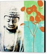 Spring Buddha Canvas Print by Linda Woods