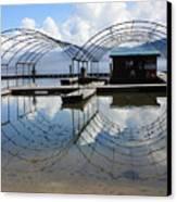 Spring Docks On Priest Lake Canvas Print