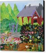 Spring Garden Canvas Print