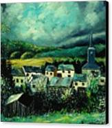 Spring In Daverdisse Canvas Print