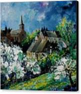 Spring In Fays Famenne Canvas Print