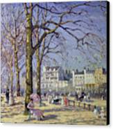 Spring In Hyde Park Canvas Print