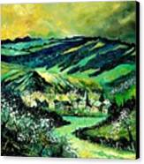 Spring In Tha Ardennes Canvas Print
