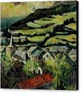 Spring In Vresse Ardennes Belgium Canvas Print