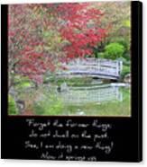 Spring Revival Canvas Print