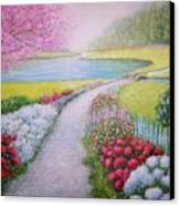 Spring Canvas Print by William H RaVell III