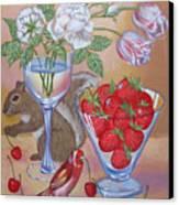 Squirrel Cherry .2006 Canvas Print