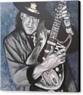 Srv - Stevie Ray Vaughan  Canvas Print