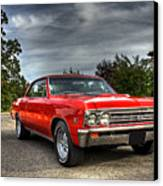 Ss 396 Chevelle Canvas Print by Tim Wilson