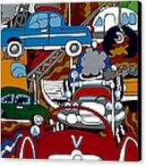 Ss Studebaker Canvas Print by Rojax Art