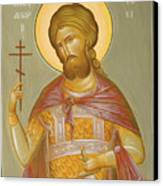 St Alexander Nevsky Canvas Print by Julia Bridget Hayes