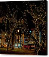 St. Augustinelights3 Canvas Print by Kenneth Albin