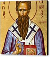 St Basil The Great Canvas Print by Julia Bridget Hayes